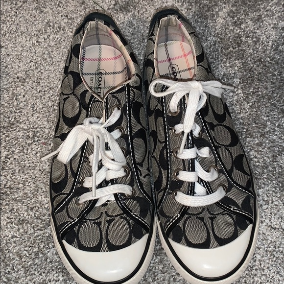 Coach Shoes | Blackwhitegrey Coach
